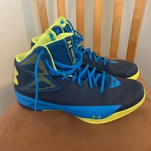 Under Armour basketball shoes!